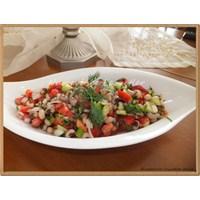 Çoban Salatası İle Börülceli Salata Tarifim