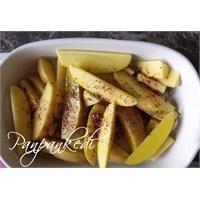 Zeytinyağlı, Fesleğenli Fırın Patates