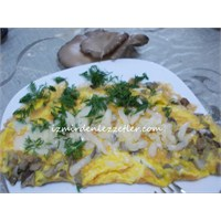 Kayın Mantarlı Omlet