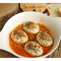 Kahvaltılık Tereyağlı Yumurta Kapama Tarifi