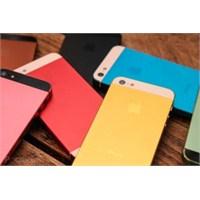 İphone 5s Farklı Renk Seçeneği