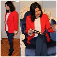 Ne Giydim: Blazer Ceket & Kot Pantolon