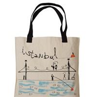İstanbul Teması Flo'ya Özel Tasarım Çantalarda