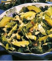 Avokadolu Ispanak Salatası