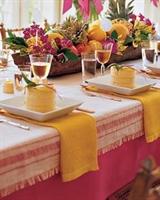 Yaz Davetlerinizde Masalarınızı Süslemek İçin Öner