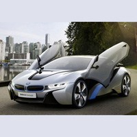 Geleceğin Otomobili Çevre Dostu Bmw İ8
