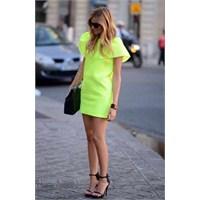 Yeni Trend: Neon Sarı