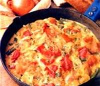 Diyet Yemekleri - Sebzeli Omlet