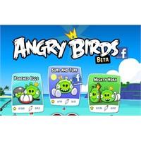 Angry Birds Sonunda Facebook'ta!
