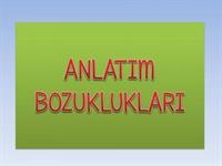 Türkçe Dersi- Anlatım Bozuklukları 3 Adet Sunum