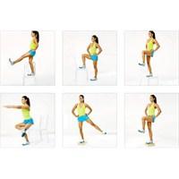 Pürüzsüz Ve Düzgün Bacaklar İçin Resimli Egzersiz