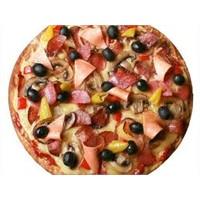 Damak Tadında Karışık Pizza