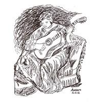Hüzünlü Bir Gitar.. Hüzünlü Nameler...
