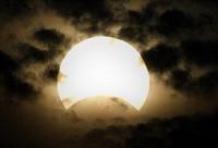Güneş Tutulması Görüntüleri