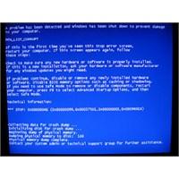 Windows Mavi Ekran Hataları
