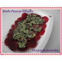 Soslu Pancar Salatası