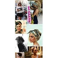 Saçlarda Eşarp Trendi
