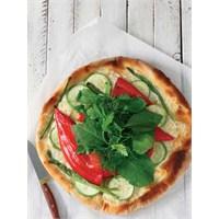 Otlu, Kırmızı Biberli, Kabaklı Pizza