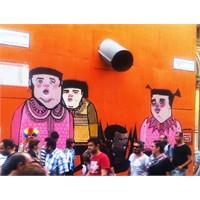 Beyoğlu'nda Sokak Sanatı Örnekleri