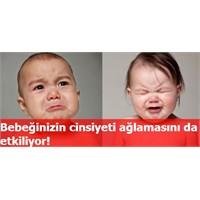 Bebeğinizin cinsiyeti ağlamasını da etkiliyor!