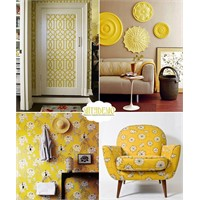 Ev Dekorasyonunda Sarı Renk Teması