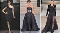 Yeni Elbiseler-gecenin Derin Rengi Siyah