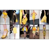 Moda Radar:sarı