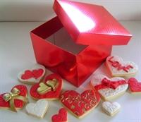 14 Şubat Sevgililer Günü Kurabiyeleri
