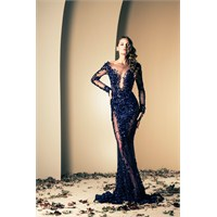 Lacivert Gece Elbiseleri Navy Blue Evening Dresses