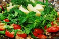 Ton Balıklı Enginarlı Salata