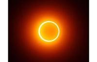 Yılın(2009) İlk Halkalı Güneş Tutulması