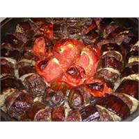 Fırında Patlıcan Kebabı Yapımı