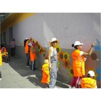 """1 Ekim Dünya Çocuk Günü """"Duvar Boyama Etkinliği"""""""