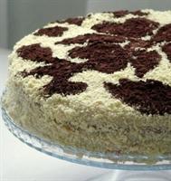 Muzlu Franbuazlı Tobleronlu Pasta