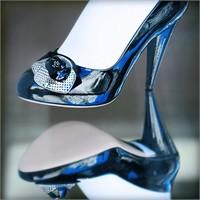 Mavi Renk Gelin Ayakkabısı Modelleri