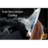 İphone 5s İle Slow Motion Özelliği Geliyor!