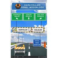 Karayolları Genel Müdürlüğü Android Uygulaması