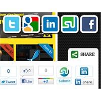 Slick Social Share Buttons Eklentisi