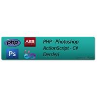 Php – Photoshop – Actionscript – C# Dersleri
