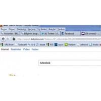 Firefox'ta Varsayılan Arama Sağlayıcıyı Değiştirme