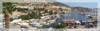 Akdeniz de Bir Liman Yerleşmesi - Kalkan (kalamaki