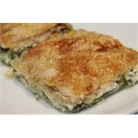 Ispanaklı Peynirli Börek Ve #blogfırtınası