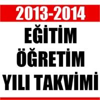 2013-2014 Eğitim Öğretim Yılı Takvimi