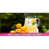 Buz Gibi Ev Yapımı Limonata Tarifi!