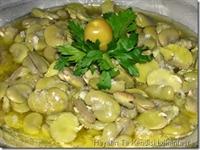 İç Bakla Salatası