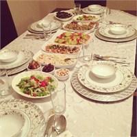 Akşam Yemeği Davet Menüsü