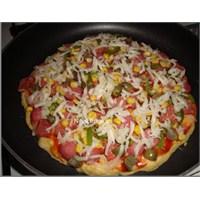 Ev Yapımı Tavada Pizza