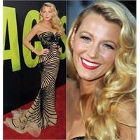Blake Lively Ve Muhteşem Elbisesi