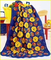Aslan Motifli Bebek Battaniye Modeli