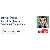 Sitene Youtube Subscribe Widget'ı Ekle